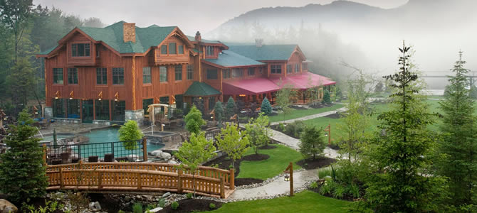 The Whiteface Lodge in Lake Placid
